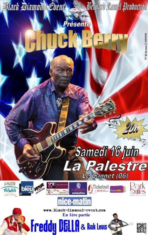Concert Chuck BERRY 16 juin 2012